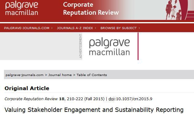 corporate social responsibility reporting guidelines