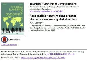 SV tourism
