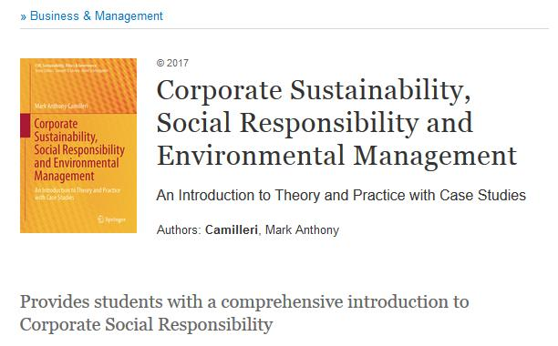 Corporate governance substantia mea this book provides a concise and authoritative guide to corporate social responsibility csr and its related paradigms including environmental fandeluxe Images